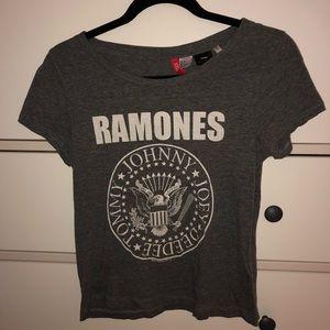 H&M Ramones band T-shirt
